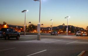 Postes Solares en Estacionamientos